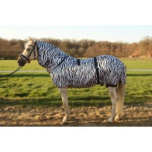 Hafer24 Ekzemerdecke Fliegendecke Master - Farbe Zebra alle Gr. 85 cm - 165 cm (115)