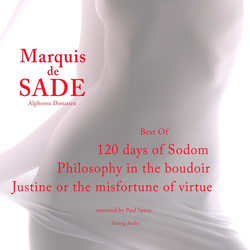 Marquis de Sade : the Best Of als Hörbuch Download von Marquis de Sade