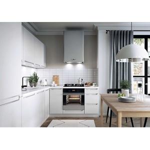 L-Form Küche, Schränke, Küchenzeile erweiterbar Weiss matt Fronten Neu&Schnell