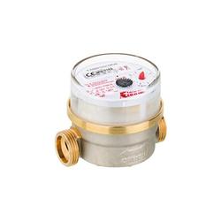 Wasserzähler Warmwasser 2,5 m³ mit Anschlussgewinde 1