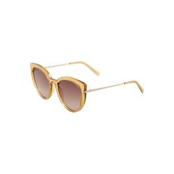 LE SPECS Damen Sonnenbrille 'PROMISCUOUS' beige, Größe One Size, 4751353