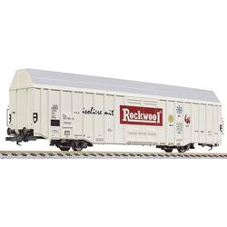 Liliput L265802 N Großraum-Güterwagen Hbbks  Rockwool  der DB