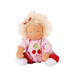 Käthe Kruse Stoffpuppe Waldorfpuppe Baby Mia, 33 cm