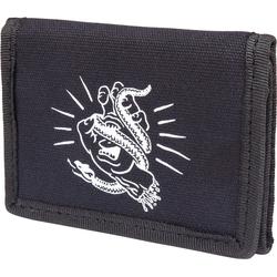 Geldtasche SANTA CRUZ - Snakebite Wallet Black (BLACK)