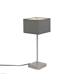 Moderne Tischlampe grau - VT 1