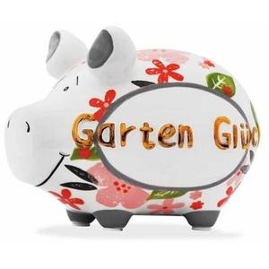 KCG Sparschwein Gartenglück - Gold Edition