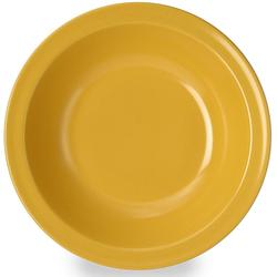 WACA Suppenteller, (Set, 4 St.), Melamin, Ø 20,5 cm gelb Teller Geschirr, Porzellan Tischaccessoires Haushaltswaren Suppenteller