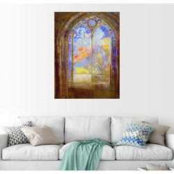 Posterlounge Wandbild, Kirchenfenster 70 cm x 90 cm