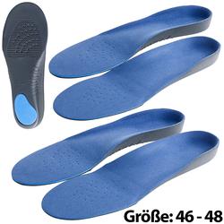 2er-Set Komfort-Schuheinlagen, Größe 46-48