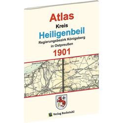 Atlas Kreis Heiligenbeil - Regierungsbezirk Königsberg 1901