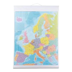 Europakarte »KAM700« grau, Franken