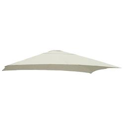sungarden Ersatzschirmbespannung, Ø 320cm, quadratisch braun Sonnenschirme -segel Gartenmöbel Gartendeko Ersatzschirmbespannung