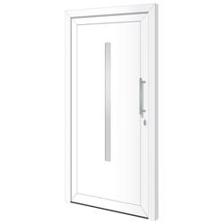 RORO Türen & Fenster Haustür Otto 20, BxH: 100x210 cm, weiß, ohne Griff