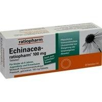 Ratiopharm ECHINACEA-RATIOPHARM 100 mg Tabletten
