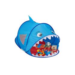 relaxdays Spielzelt Pop Up Spielzelt Hai