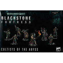Brettspiel - Warhammer Quest Blackstone Addon Cultists Abyss [UK Version]