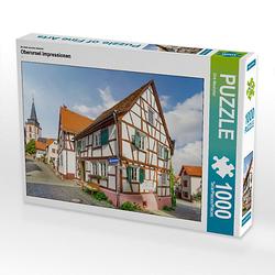 Oberursel Impressionen Lege-Größe 64 x 48 cm Foto-Puzzle Bild von Dirk Meutzner Puzzle