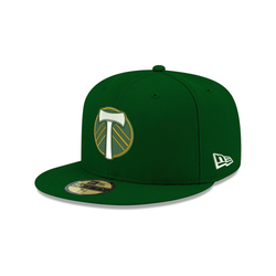 New Era Fitted Cap 59Fifty MLS Portland Timbers 7 3/4 - (61,5cm)