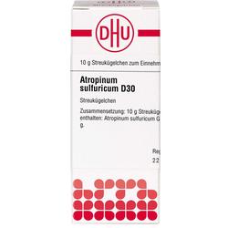ATROPINUM SULFURICUM D 30 Globuli 10 g