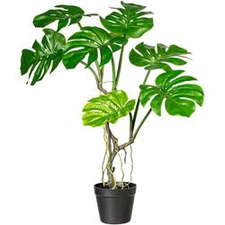 Künstliche Zimmerpflanze Blattmacher, COUCH♥, Höhe 75 cm, COUCH Lieblingsstücke