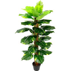 Kunstpflanze Pothospflanze, I.GE.A., Höhe 120 cm