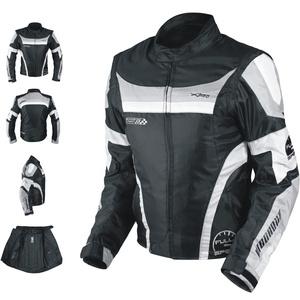 Oxford Jacke Herren Textil CE Protektoren Thermoweste Motorrad Grau M