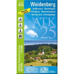 Weidenberg 1 : 25 000