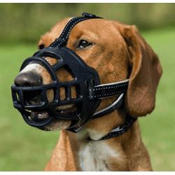 TRIXIE Maulkorb Muzzle Flex M–L
