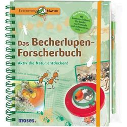 moses Expedition Natur Becherlupen-Forscherbuch 105770