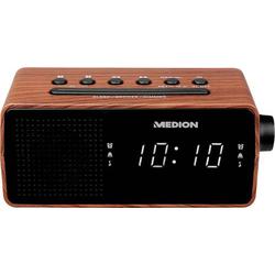 Medion E66403 Radiowecker UKW Braun