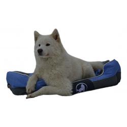 Aquagart® Hundebett blau L 75 x 60cm Hundekissen Hundebetten Hundesofa