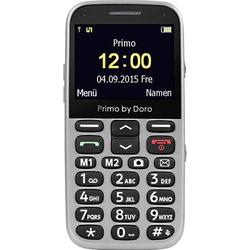 Doro 366 Senioren-Handy mit Ladestation, SOS Taste Silber