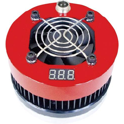 Powerspot Mini Thermix Red MINITHER-R Thermogenerator-Ladegerät Rot