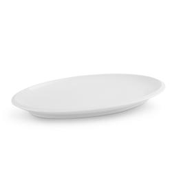 Friesland Porzellan Tortenplatte Friesland Platte 39,5cm Ecco Weiß