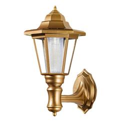 dynamic24 Laterne (1 Stück), Solar Wandlaterne Wandlampe Wandleuchte Garten Lampe Leuchte Laterne Außenlampe