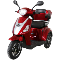 Rolektro E-Trike 15 V.2 Elektromobil Blei-Gel rot