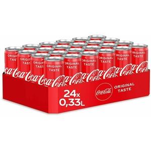 Coca Cola classic 24 x 0,33 Liter inkl. Pfand Einweg