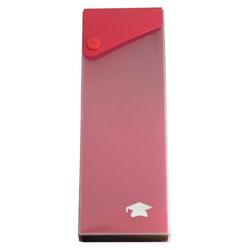 Ausziehbare Stiftebox Stifteetui rot