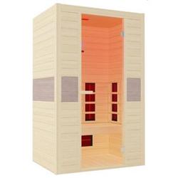 Interline Infrarotkabine Ruby für 2 Personen, 128,6 x 93,8 x 190 cm