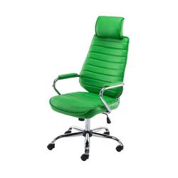 CLP Schreibtischstuhl Rako mit Wippmechanismus und Leichtlaufrollen grün