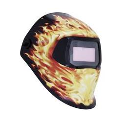 3M SPEEDGLAS Schweißerschutzhelm 100 Blaze mit Motiv