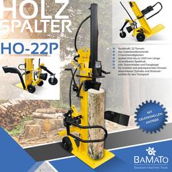 BAMATO Holzspalter mit Zapfwellenantrieb HO-22P