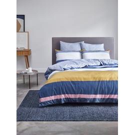 Esprit Cale blue/yellow 200 x 200 cm + 2 x 80 x 80 cm