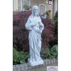 SA-N662 Heiliger Jesus Heiligenfigur Jesusfigur des heiligen Christus Steinfigur 82cm 35kg