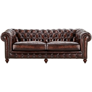 uno Sofa  Chesterfield ¦ braun