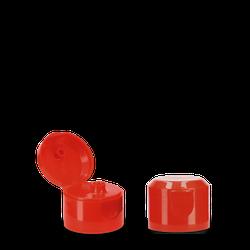 Klappscharnierverschluss - rot - PP - 28/410