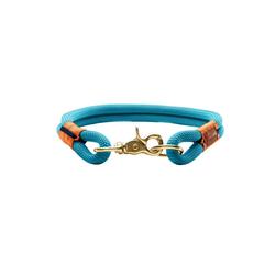 Hunter Hunde-Halsband Oss, Tau gr�n 1 cm x 40 cm