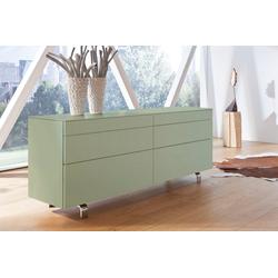 hülsta Sideboard NEO Sideboard, mit 6 Schubladen, Breite 211,2 cm grün