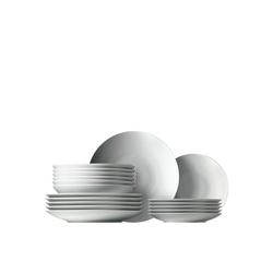 Thomas Porzellan Geschirr-Set Set 18-tlg. - LOFT Weiß