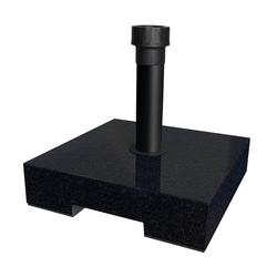 Schirmständer - granit, mit Rollen - 40 kg